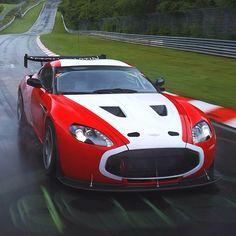 Aston Martin V12 Zagato. Not your ordinary racing type.