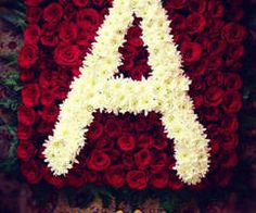 Name Decorations, Diy Birthday Decorations, Flowers Decoration, Alphabet Wallpaper, Name Wallpaper, Fancy Letters, Flower Letters, Initial Letters, Letter Art