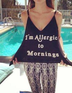 Ha ha, ugh  mornings ...