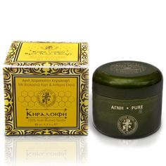 Pure Wax-cream is made with the help of a traditional recipe and is based on the properties of the pure, natural beeswax and the extra virgin olive oil. It is rich in nourishing, moisturizing, soothing and anti-inflammatory agents. Produced and packaged in the Hut of St. George on Mount Athos / Αγνή Κεραλοιφή για δερματολογική & καλλυντική χρήση φτιαγμένη με Αγνό ΦυσικόΚερί Μέλισσας και εξαιρετικό παρθένο ελαιολάδο. Παράγεται και συσκευάζεται στην καλύβη Αγίου Γεωργίου στο Άγιο Όρος. Secret Recipe, The Help, Essential Oils, Wax, Healing, Pure Products, Cream, Creme Caramel, Laundry