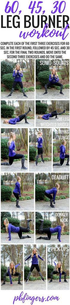 Leg Burner Workout