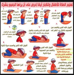 تعليم الصلاة Islam For Kids Islamic Kids Activities Muslim Kids Activities