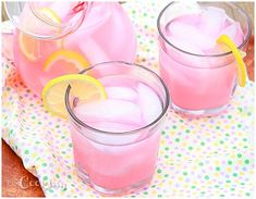 Love pink lemonade? Want to know how to make homemade pink lemonade from scratch? It's easier than you think and oh so refreshing.