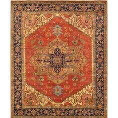 """Shop for Pasargad Serapi Collection Hand-Knotted Wool Area Rug (8' 1"""" X 9'10""""). Ships To Canada at Overstock.ca - Your Online Home Decor Outlet Store!  - 24366844"""