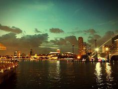 Night lights # Marina Bay Sands # seaside view