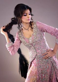 Pakistani Wedding Dresses | Posts related to Latest Pakistani Bridal Classics Dress 2013 By ...