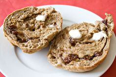 Cinnamon-Raisin and Ginger-Cranberry Bagels - 5 by Sugarcrafter, via Flickr