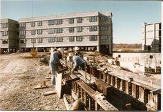 Watchtower Farms B residence construction precast beams (Roger Johnson)