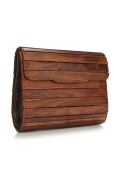 Panel Wooden Bag - Accessories - French Connection
