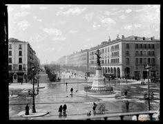 Paseo Independencia 1910 - Gran Archivo Zaragoza Antigua