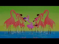 Flamingos from Fantasia 2000 (Camille Saint-Saens' Carnival of the Animals, Finale) Beautiful animation by Eric Goldberg. Music Lessons, Art Lessons, Music Ed, Reggae Music, Art Music, Carnival Of The Animals, Walt Disney Records, Dance Humor, Music Composers