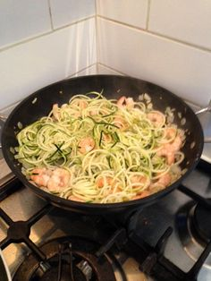 Prawn and courgette noodles have fast become one of Millie's favourite winter warming dishes [Yahoo Lifestyle]