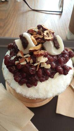patbingsu: korea dessert