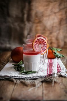 Blood Orange Panna Cotta by Eva Kosmas, via Flickr