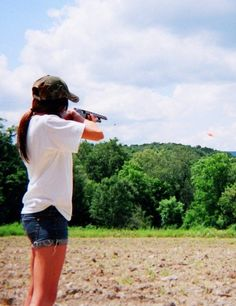 Skeet Shooting!!! Shot today for the first time with my Dad, Grampa and Brother!!