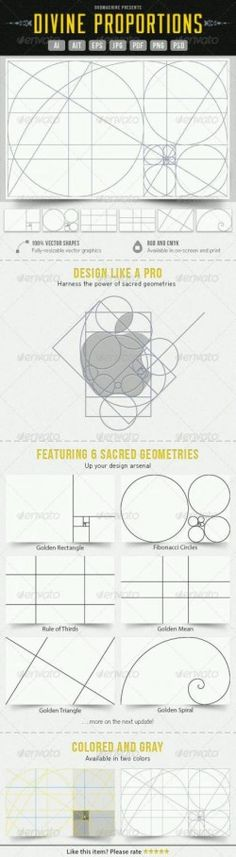 Sacred geometry – Fibonacci Principle and Proportions | ARCH-student.com