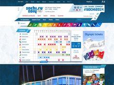 Le site officiel www.sochi2014.com est prêt pour les Jeux.  Ooohh...I'm thinking an online scavenger hunt is in order!