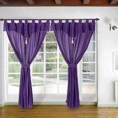 cortinas habitacin rstica buscar con google