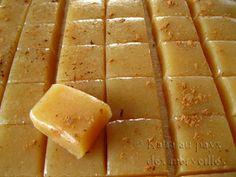 Katia au pays des merveilles: Caramels mous aux pommes