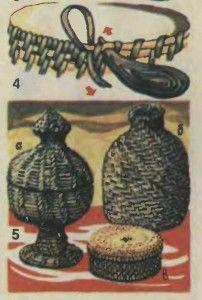 Плетение из корня (спиральное плетение) | Своя изба