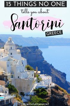 Santorini Travel Tips – Honeymoon Santorini Greece Beaches, Santorini Vacation, Greece Vacation, Mykonos Greece, Crete Greece, Athens Greece, Europe Travel Guide, Travel Guides, Places To Travel
