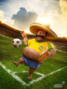 Un Mariachi - World Cup on Behance