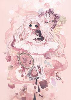 Ribbon glace #sweetlolita