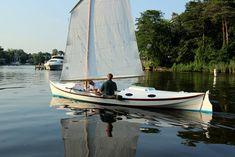 "Launching the 22'6"" Rowing-Sailing Faering Coastal Cruiser"