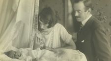 1925 		 			John and Cornelia Vanderbilt Cecil's first son, George Henry Vanderbilt Cecil, is born at the estate.