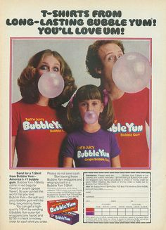 Oh how I loved Bubble Yum.  Way before Hubba Bubba rolled onto the scene.