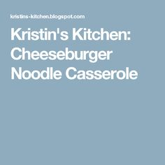 I found this recipe on the WW community board and thought it sounded good. My husband is a huge cheeseburger fan and I am a big pasta lover,. Noodle Casserole, Beef Casserole, Casserole Recipes, Ww Recipes, Low Calorie Recipes, Cooking Recipes, Healthy Recipes, Healthy Options, Healthy Meals