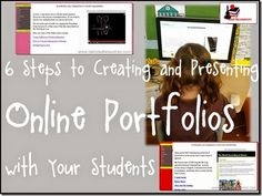 Getting Ready for Student Portfolio Season - Online Portfolios - Steps and Directions from Raki's Rad Resource