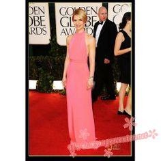 Claire Danes pink dress 2010 Golden Globe Awards $99.99 each at Mysupercenter.net