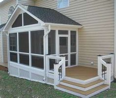 Wonderful Screen Porch Plans Ideas. See More. Nice