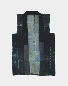 Check out these unique products by Kirikomade in Portland! Vintage Sashiko Stitched Boro Vest
