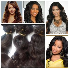 100% Human Hair, machine weft, 100 g, AAAAA quality Virgin Remy Peruvian hair starting at $60 www.tmghairextensions.com Can be flat ironed, dyed or curled  Color: natural black (closest to 1B) Texture: Loose Wave Quality: AAAAA Virgin Remy  Weight: 100g per bundle (about 3.5oz)  Available lengths 12'', 14'', 16'', 18'', 20'' , 22''