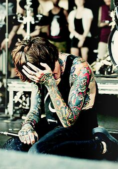 singer tattoos Bring Me The Horizon bmth oliver sykes Band OLI SYKES drop dead