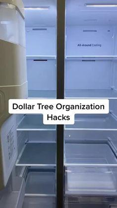 Refrigerator Organization, Kitchen Organization Pantry, Kitchen Storage, Organized Fridge, How To Organize Fridge, Fridge Storage, Camper Storage, Bathroom Organization, Storage Containers