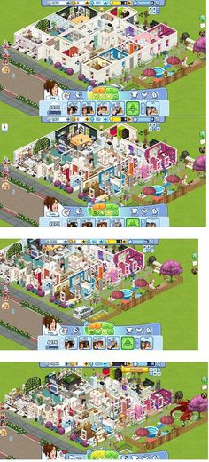 Sims social game house