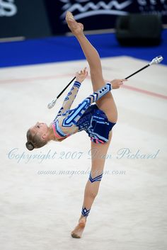 Irina Kovalchuk  - Stunning  (Rhythmic Gymnastics category.)