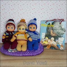 Bonecas Minuche, da TROL.  Helena, Cecília e Otávia. Barbie Collector, Vintage Dolls, Barbie Dolls, Nostalgia, Memories, Fictional Characters, Collection, Barbie Dress, Antique Dolls