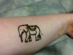 Henna Elephant for my sistergirl Tracy xx come over to Lindy's Rox on FB and say hi I would love to see you there :)