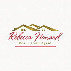 real estate logo house logo design realty by stylemesweetdesign