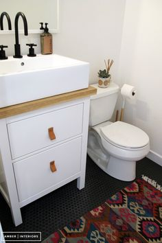 Before and After :: Office Bathroom