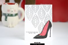 The Ton 2019 Anniversary Release The Ton Stamps, Christian Louboutin, Exclusively Pumping, 4th Anniversary, Shoe Image, Tonne, Creative Cards, Shoe Boots, Shoes