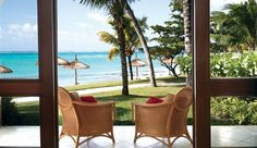 One Le Saint Geran: Ocean Suites have two private terraces for admiring the lagoon or turquoise Indian Ocean.