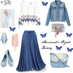 Hijab Fashion 2016/2017: Aminahs Hijab Diary #hijab #hijabfashion #modest #fashion #look #style #outfit #ootd #hm #muslimah #germany #spring #summer