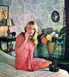 Brigitte Bardot at home, 1966