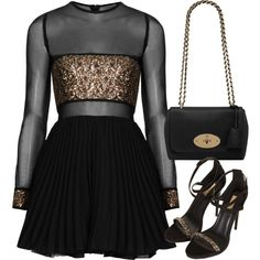 Untitled #635 by kyleezavalax on Polyvore featuring Topshop and Mulberry