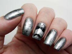 Captain Phasma Nails - Nail Art Gallery